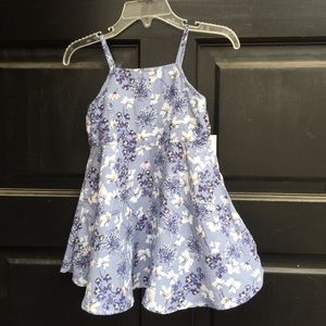 Old navy floral dress 18-24 NWT